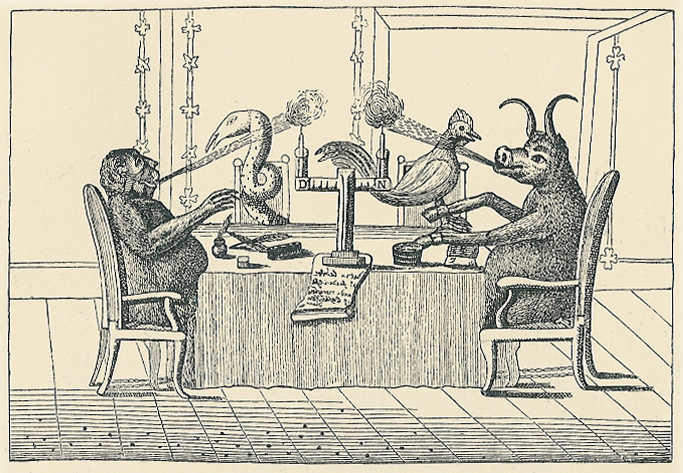"""Kommisjonen som jobba med lova med det misvisand namnet """"Trykkefridhedsforordningen"""" frå 1799."""